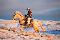 Cowgirl, Shell, Big Horn County, Wyoming, USA Stock Photo - Premium Royalty-Freenull, Code: 600-03502641