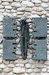 Polish memorial at Dachau concentration camp, Dachau, Bavaria, Germany, Europe Stock Photo - Premium Rights-Managed, Artist: Robert Harding Images, Code: 841-03502612