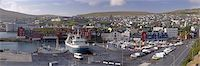 Panoramic view of Torshavn and harbour, capital of the Faroe Islands (Faroes), Denmark, Europe Stock Photo - Premium Rights-Managednull, Code: 841-03507823