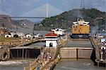 Pedro Miguel Locks, Panama Canal, Panama, Central America Stock Photo - Premium Rights-Managed, Artist: Robert Harding Images, Code: 841-03507971