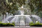 Fountain, Forsyth Park, Savannah, Georgia, United States of America, North America Stock Photo - Premium Rights-Managed, Artist: Robert Harding Images, Code: 841-03507977