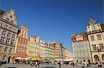 Main Square, Wroclaw, Lower Silesian Voivodeship, Poland Stock Photo - Premium Rights-Managed, Artist: Raimund Linke, Code: 700-03508175