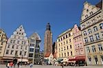 Main Square, Wroclaw, Lower Silesian Voivodeship, Poland Stock Photo - Premium Rights-Managed, Artist: Raimund Linke, Code: 700-03508177