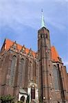 Church of the Holy Cross, Cathedral Island, Wroclaw, Dolnoslaskie Province, Poland Stock Photo - Premium Rights-Managed, Artist: Raimund Linke, Code: 700-03508184