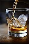 Glass of Whiskey Stock Photo - Premium Rights-Managed, Artist: Yvonne Duivenvoorden, Code: 700-03508193