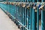Close-up of Locks of Love, Wroclaw, Lower Silesian Voivodeship, Poland Stock Photo - Premium Royalty-Free, Artist: Raimund Linke, Code: 600-03508260