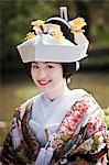 Bride, Kanazawa, Ishikawa prefecture, Chubu Region, Honshu, Japan Stock Photo - Premium Rights-Managed, Artist: Ikonica, Code: 700-03508490