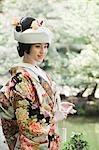 Bride, Kanazawa, Ishikawa prefecture, Chubu Region, Honshu, Japan Stock Photo - Premium Rights-Managed, Artist: Ikonica, Code: 700-03508511