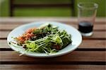 Organic Salad on Table with Beverage Stock Photo - Premium Rights-Managed, Artist: Derek Shapton, Code: 700-03508568