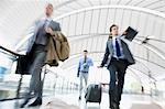 Business people rushing in train station Stock Photo - Premium Royalty-Freenull, Code: 635-03515534