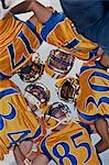 Football players in huddle Stock Photo - Premium Royalty-Free, Artist: Cusp and Flirt, Code: 635-03515686