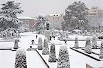 Retiro Park under snow, Madrid, Spain, Europe Stock Photo - Premium Rights-Managed, Artist: Robert Harding Images, Code: 841-03518127