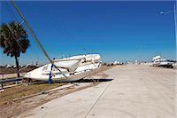 sailing boat storm - Hurricane damage, Galveston, Texas, United States of America, North America Stock Photo - Premium Rights-Managednull, Code: 841-03518445