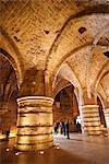 Interior of the Crusader Castle, Akko (Acre), Israel, Middle East Stock Photo - Premium Rights-Managed, Artist: Robert Harding Images, Code: 841-03518451