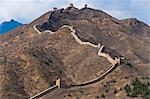 View of a section of the Great Wall, UNESCO World Heritage Site, between Jinshanling and Simatai near Beijing, China, Asia Stock Photo - Premium Rights-Managed, Artist: Robert Harding Images, Code: 841-03518798