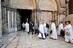 Pilgrims, Church of the Holy Sepulchre, Old City, Jerusalem, Israel, Middle East Stock Photo - Premium Rights-Managed, Artist: Robert Harding Images, Code: 841-03519019