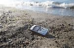 Cell Phone on the Beach Stock Photo - Premium Rights-Managed, Artist: Ron Fehling, Code: 700-03519233