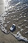 Cell Phone on the Beach Stock Photo - Premium Rights-Managed, Artist: Ron Fehling, Code: 700-03519237