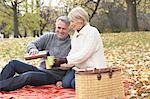 Couple Having Picnic, Eglinton Park, Toronto, Ontario, Canada Stock Photo - Premium Rights-Managed, Artist: Jerzyworks, Code: 700-03520349