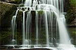 Close-up of Waterfall, West Burton, Yorkshire, England Stock Photo - Premium Rights-Managed, Artist: JW, Code: 700-03520404