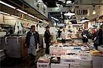 People Working at Tsukiji Central Wholesale Market, Tokyo, Japan Stock Photo - Premium Rights-Managed, Artist: Ikonica, Code: 700-03520453