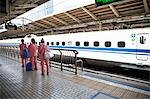 People at Train Station, Tokyo, Japan Stock Photo - Premium Rights-Managed, Artist: Ikonica, Code: 700-03520467
