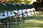 Chairs at Wedding Ceremony Stock Photo - Premium Rights-Managed, Artist: Ikonica, Code: 700-03520473