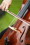 Close-up of Woman Playing Cello Stock Photo - Premium Rights-Managed, Artist: Ikonica, Code: 700-03520479