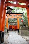 Fushimi Inari Taisha, Fushimi-ku, Kyoto, Kyoto Prefecture, Kansai Region, Honshu, Japan Stock Photo - Premium Rights-Managed, Artist: Ikonica, Code: 700-03520669