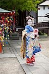 Geisha, Kyoto, Kyoto Prefecture, Kansai Region, Honshu, Japan Stock Photo - Premium Rights-Managed, Artist: Ikonica, Code: 700-03520675