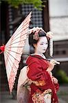 Geisha, Kyoto, Kyoto Prefecture, Kansai Region, Honshu, Japan Stock Photo - Premium Rights-Managed, Artist: Ikonica, Code: 700-03520676