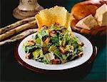 Caesar Salad with Parmesan Crisp Stock Photo - Premium Royalty-Freenull, Code: 659-03520810