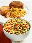 Succotash Stock Photo - Premium Royalty-Free, Artist: foodanddrinkphotos, Code: 659-03521365
