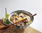 Chinese chicken soup with noodles Stock Photo - Premium Royalty-Free, Artist: foodanddrinkphotos, Code: 659-03521565