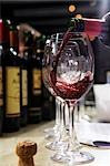Pouring red wine Stock Photo - Premium Royalty-Free, Artist: foodanddrinkphotos, Code: 659-03521907