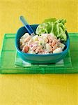 Potato and salmon salad with horseradish cream Stock Photo - Premium Royalty-Freenull, Code: 659-03522777