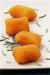 Potato croquettes with rosemary (close-up) Stock Photo - Premium Royalty-Freenull, Code: 659-03522969