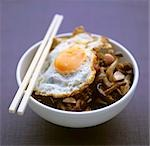 Nasi goreng with mushrooms and fried egg Stock Photo - Premium Royalty-Freenull, Code: 659-03523913
