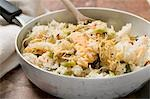 Pan-cooked rice and fish dish with lemon zest Stock Photo - Premium Royalty-Freenull, Code: 659-03525303