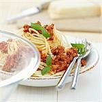 Spaghetti bolognese Stock Photo - Premium Royalty-Freenull, Code: 659-03529565
