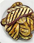 Grilled aubergine slices Stock Photo - Premium Royalty-Free, Artist: foodanddrinkphotos, Code: 659-03529999