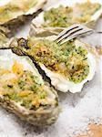 Oysters au gratin Stock Photo - Premium Royalty-Freenull, Code: 659-03530466