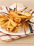 Oven-baked parsnips Stock Photo - Premium Royalty-Free, Artist: foodanddrinkphotos, Code: 659-03530619