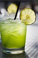 Margarita on the Rocks with Lime Slice Stock Photo - Premium Royalty-Freenull, Code: 659-03531727