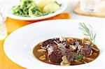 Braised beef with mushrooms Stock Photo - Premium Royalty-Free, Artist: Westend61, Code: 659-03532357