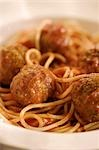 Classic Spaghetti and Meatballs Stock Photo - Premium Royalty-Freenull, Code: 659-03532485