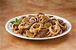 Plate of Beef Stroganoff Stock Photo - Premium Royalty-Free, Artist: Westend61, Code: 659-03532940