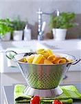 Cooked pasta in a colander Stock Photo - Premium Royalty-Free, Artist: Cusp and Flirt, Code: 659-03533711