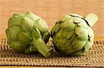 Two Whole Artichokes Stock Photo - Premium Royalty-Free, Artist: Robert Harding Images, Code: 659-03533756