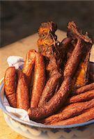 smoked - Selchwurst (smoked sausage) and smoked ribs Stock Photo - Premium Royalty-Freenull, Code: 659-03534427